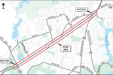 Parts of 200 homes, businesses in path of Route 1 'superstreet'