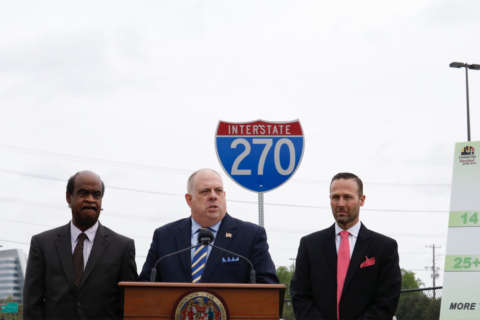 Hogan outlines $100M effort to cut congestion on I-270