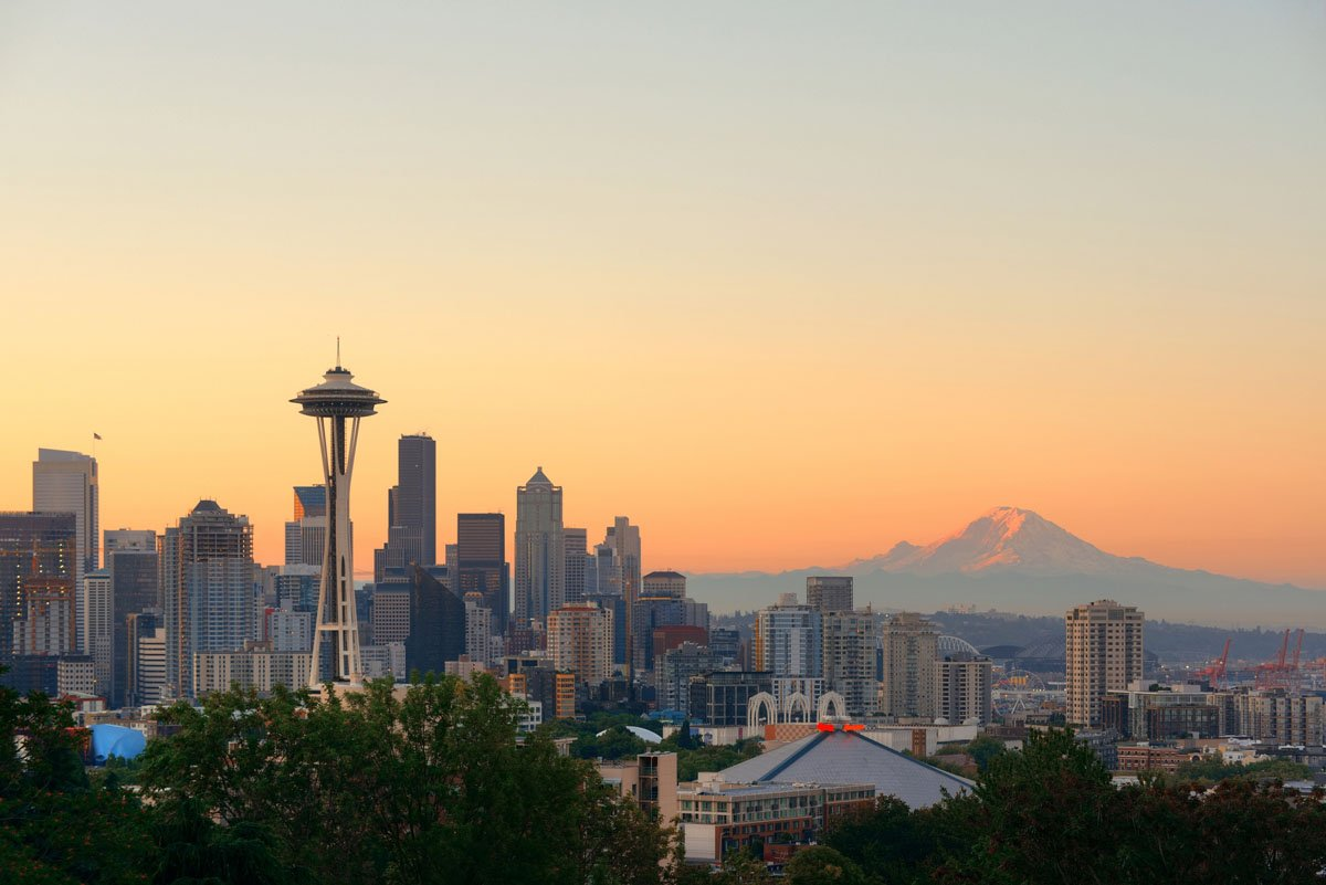 Home prices in Seattle in February were up a staggering 12.2 percent from a year ago, by far the largest annual gain among big cities. (Thinkstock)