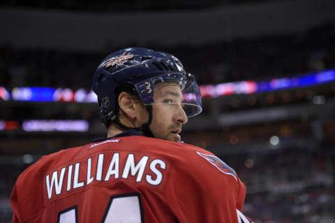 Caps' Justin Williams on Va. speeding ticket: 'Welcome-back kick in the teeth'