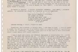 """This undated image released by Profiles in History shows the first chapter of a manuscript that would become the Alcoholics Anonymous """"Big Book,"""" which includes stories and strategies for controlling addiction. The 161-page typed manuscript includes handwritten notes by Alcoholics Anonymous founders, including co-founder William Griffith Wilson, whose personal experiences are told in the first chapter titled """"Bill's Story."""" Profiles in History announced Wednesday, April 12, 2017, that the manuscript will be publicly displayed in New York in May and will likely sell for more than $2 million when it goes up for auction in June. (Broad Highway Publishing Co. via AP)"""