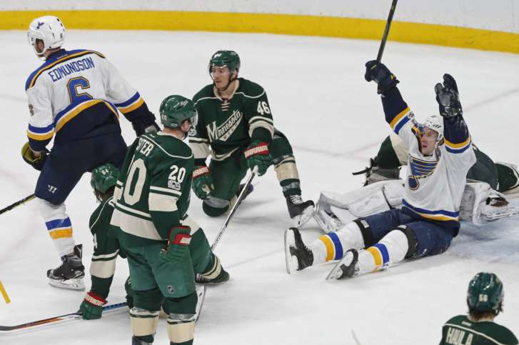 Jake Allen, Blues push Wild to brink of elimination