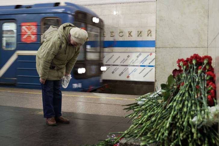 New explosives found in Russia's St. Petersburg linked to metro bombing