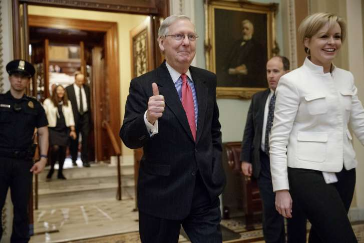 Sen. McConnell: The Supreme Court Vacancy Was Key to President Trump's Win