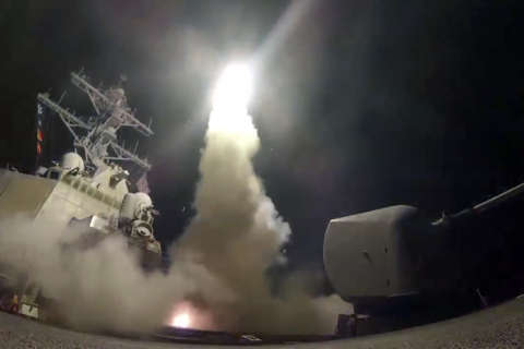Photos: US airstrikes in Syria