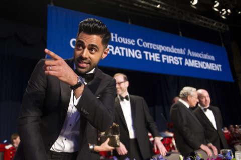Photos: White House Correspondents' Association dinner 2017