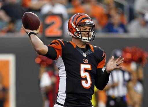 Bengals set to hold onto McCarron for at least 1 more year