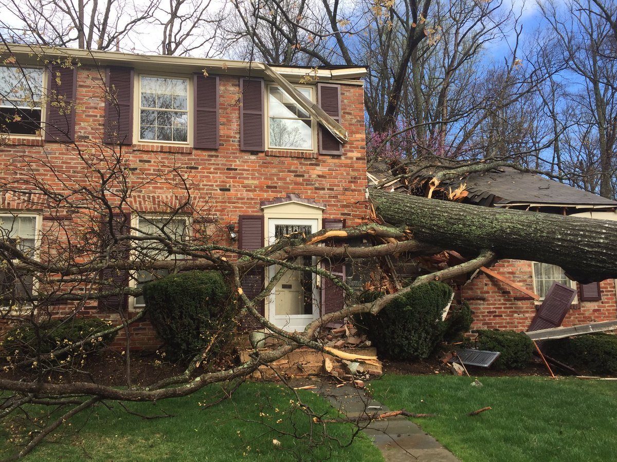 The homeowners were transported to the hospital as a precaution.(WTOP/Michelle Basch)