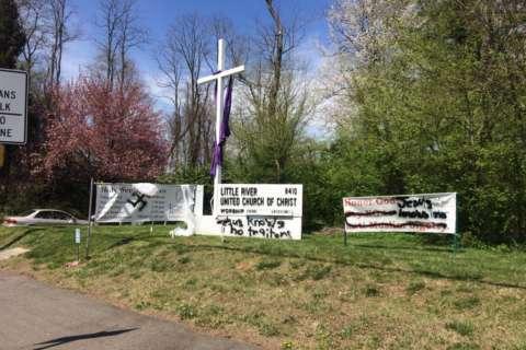 Vandals deface Fairfax church, Jewish center amid Holy Week, Passover
