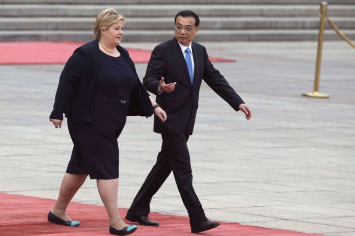China, Norway resume free-trade talks after diplomatic freeze