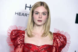 Actress Elle Fanning (''Because of Winn-Dixie'') is 19 on April 9.   Here, Elle Fanning arrives at Harper's BAZAAR's 150 Most Fashionable Women at the Sunset Tower Hotel on Friday, Jan. 27, 2017, in Los Angeles. (Photo by Jordan Strauss/Invision/AP)