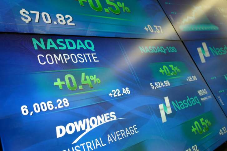 NASDAQ Tops 6K For First Time Ever