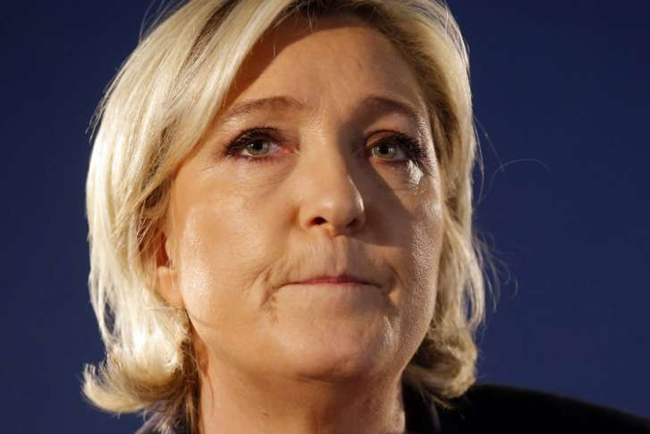 Leading Candidate in French Presidential Race