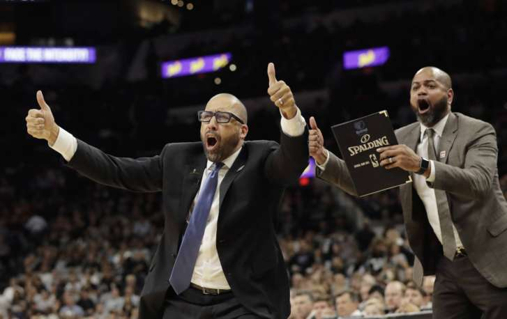 Grizzlies coach Fizdale fined $30000 for refs tirade