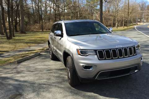 2017 Jeep Grand Cherokee Limited:  An on- and off-road capable SUV