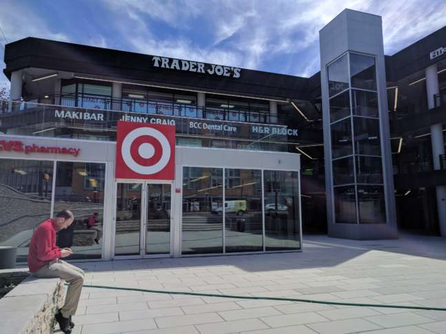 Target Is Opening A Small Scale Store In Bethesda. (WTOP/Ginger Whitaker)