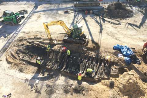 Ship that was found buried in Alexandria begins its next journey