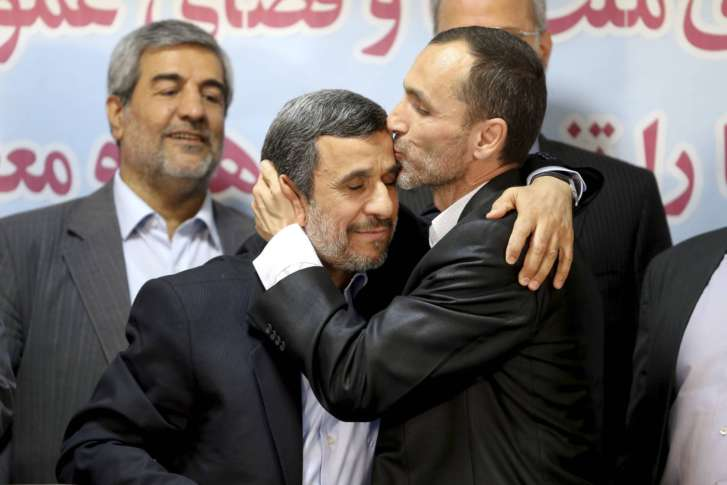 In surprise move, Iran's Mahmoud Ahmadinejad to run for president