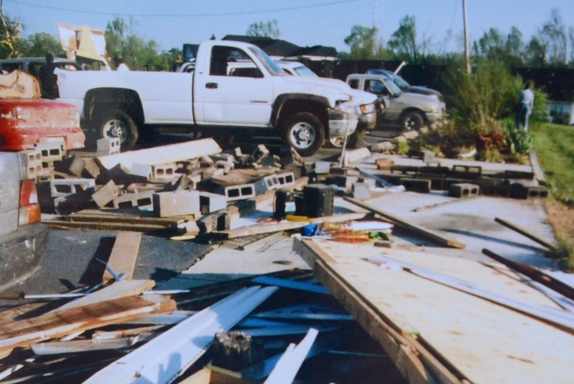 Fifteen years ago, an F4 tornado ripped through the Charles County town of La Plata. The 2002 storm was blamed for three deaths and well over 100 injuries. (WTOP File Photo/Dave Dildine)