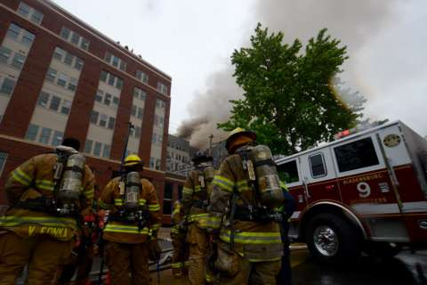 Video captures destruction of College Park fire