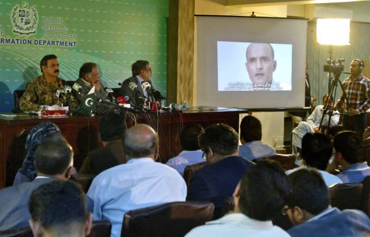 Jadhav not a spy, should be freed, says Rajnath