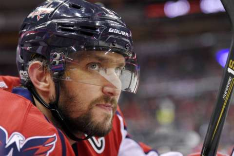 Ovechkins celebrate marriage almost a year later