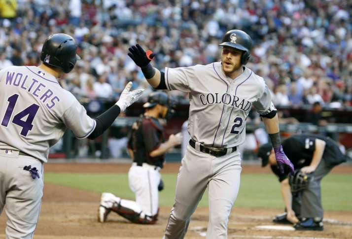 Story, Freeland help Rockies beat D-backs to move into 1st