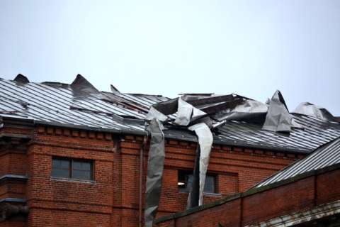 High wind damages churches in downtown DC (Photos)