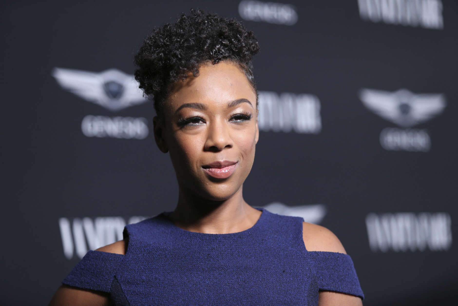 "Samira Wiley arrives at the Toast to the Cast and Filmmakers of ""Hidden Figures"" at Spago Restaurant on Friday, February 24, 2017, in Beverly Hills, Calif. (Photo by Omar Vega/Invision/AP)"