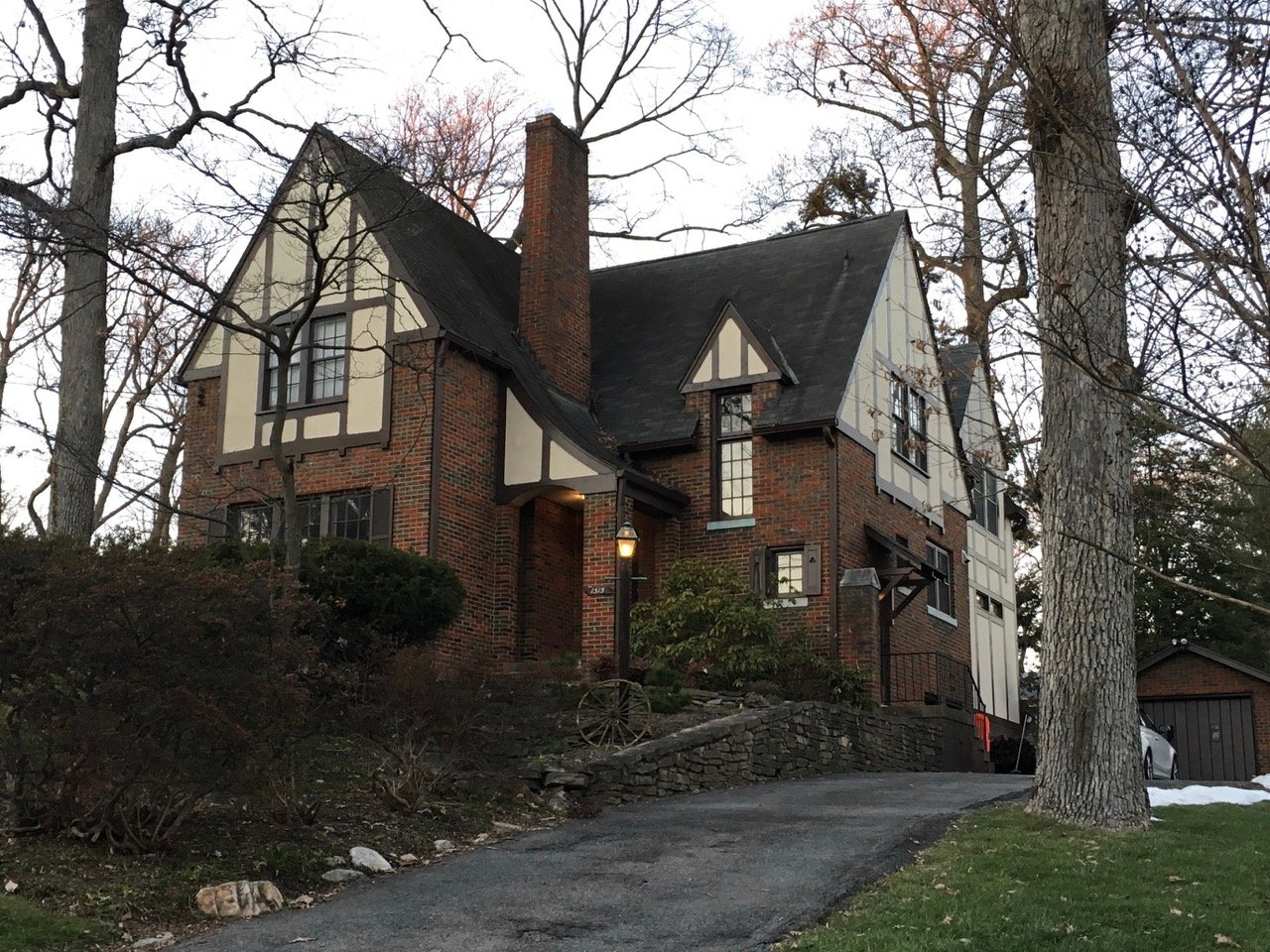 """A Sears """"Elmhurst"""" kit house in the Forest Hills neighborhood of Northwest, D.C. (Catarina Bannier)"""