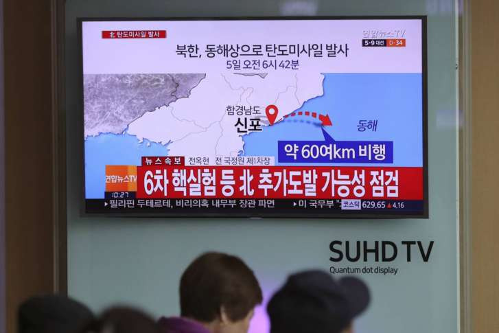 North Korean ballistic missile launch condemned by UN Security Council
