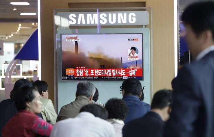 After Days Of Tension, North Korean Missile Test Fails