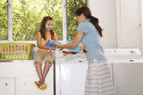 Every Day is Kids' Day: Getting children involved in chores