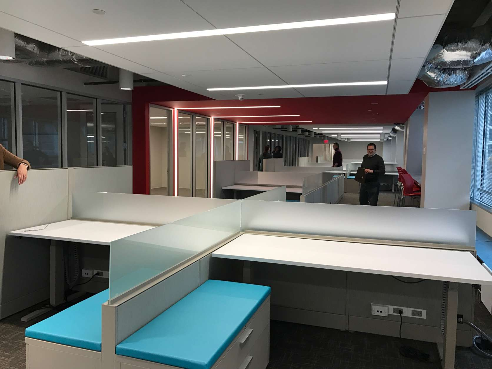 The Washington Business Journal's new office is at 1100 Wilson Blvd., in Rosslyn. (Courtesy Washington Business Journal)