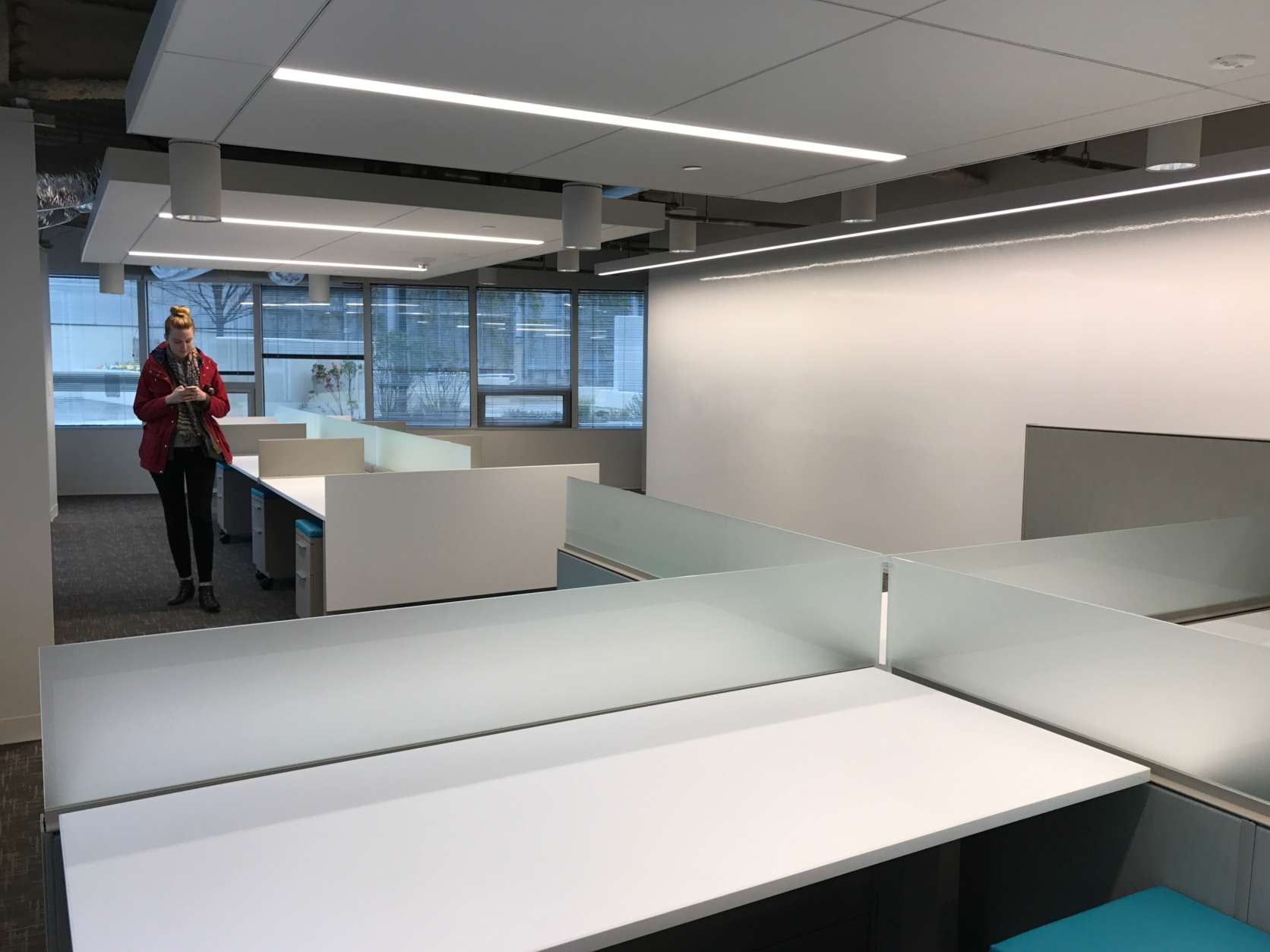 The Washington Business Journal's new office is 8,500 square feet, down from the previous 11,500. (Courtesy Washington Business Journal)
