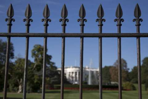 Access to White House fence closes permanently