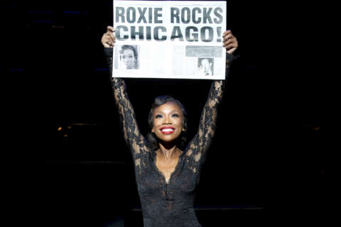 Brandy stars as Roxie Hart in Kennedy Center's 'Chicago'