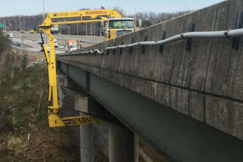 2nd round of major bridge repairs could snarl I-95 traffic all weekend