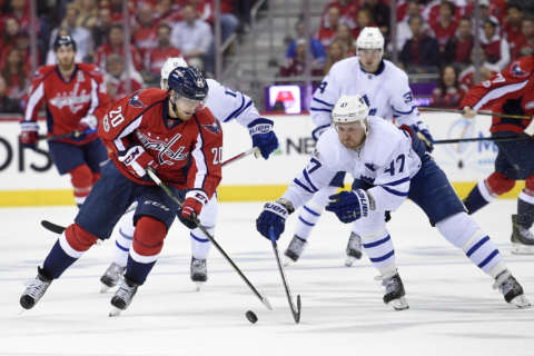 Caps look to clip Leafs in game 6