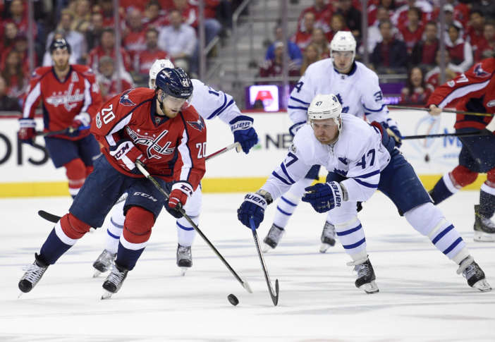 Washington Capitals Triumph In Overtime Over Toronto Maple Leafs