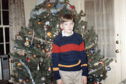 Andrew Gifford is pictured in this Christmas 1986 photo, which was taken after he was abandoned by his father Robert, who became company president in 1980. (Photo courtesy Andrew Gifford)