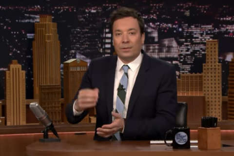 WATCH: Caps help Fallon do keg stand from Cup on 'Tonight Show'
