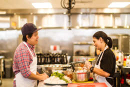 Foodhini is a meal-delivery company that features family-style dishes from global cuisines, all made by emerging immigrant chefs. The startup operates out of Union Kitchen's Ivy City location. (Courtesy Foodhini)