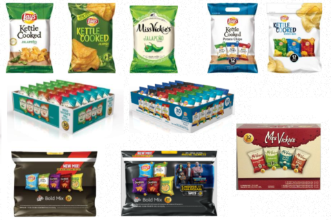 Frito-Lay recalls Jalapeño-flavored chips over salmonella concern
