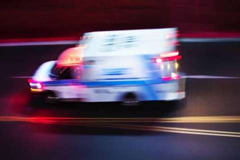 Medic unit hits, critically injures pedestrian in Maryland