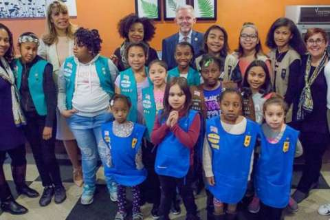 Girl Scout troop is 'first single troop' for homeless girls in New York