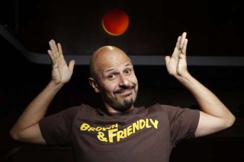 Maz Jobrani films first Netflix special at the Kennedy Center