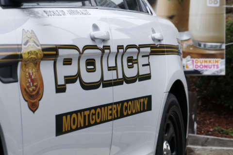 Man arrested after smashing Montgomery Co. police cruiser's window for 2nd time