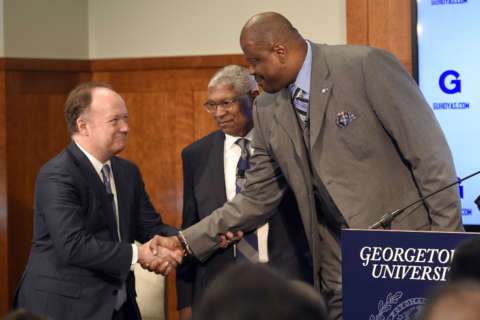 Basketball around the Beltway: Tall task ahead for a Hoyas giant