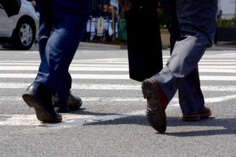 Where did area's most pedestrian fatalities occur last year?